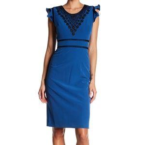 NANETTE Lepore Embroidered Sheath Dress